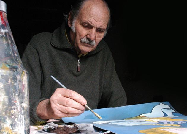 Gigi Pedroli, incisioni a Milano
